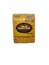 Survivor Card Game 2000 Mattel Outwit Outplay Outlast (Good Condition) Complete - $8.18