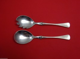 "Patricia by W&S Sorensen Sterling Silver Salad Serving Set 2pc HHWS  8 1/4"" - $161.60"