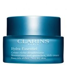 Clarins Hydra Essentiel Cream riche desalterante 50 ml - $73.00