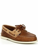 Sperry Men's A/O 2-Eye Tan/ Oatmeak STS21721 Size 11 US 44.5 EUR - $70.08