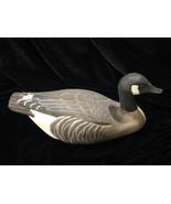 "Vintage Canada Goose Mini Decoy Artist Signed Buck 1982 7 3/4""   - $9.50"