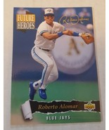 1993 Upper Deck Future Heroes Roberto Alomar Blue Jays #55 - $1.00