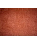 """Rusty Cinnamon Woven Textured Upholstery Fabric  55"""" Wide - $39.99"""