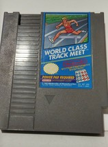 World Class Track Meet Nintendo Video Game Cartridge 1988 NES-WT-USA Mfg... - $8.99