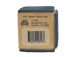 Stampendous-1993 Marble Texture Cube-Rubber Stamp image 6