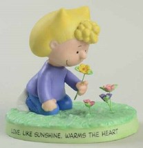 HALLMARK PEANUTS LOVE WARMS THE HEART SALLY FIGURINE NUMERED EDITION NEW... - $29.99