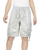 Boys Elastic Waist Drawstring Multi Pocket Cotton Toddler Kids Cargo Shorts image 4