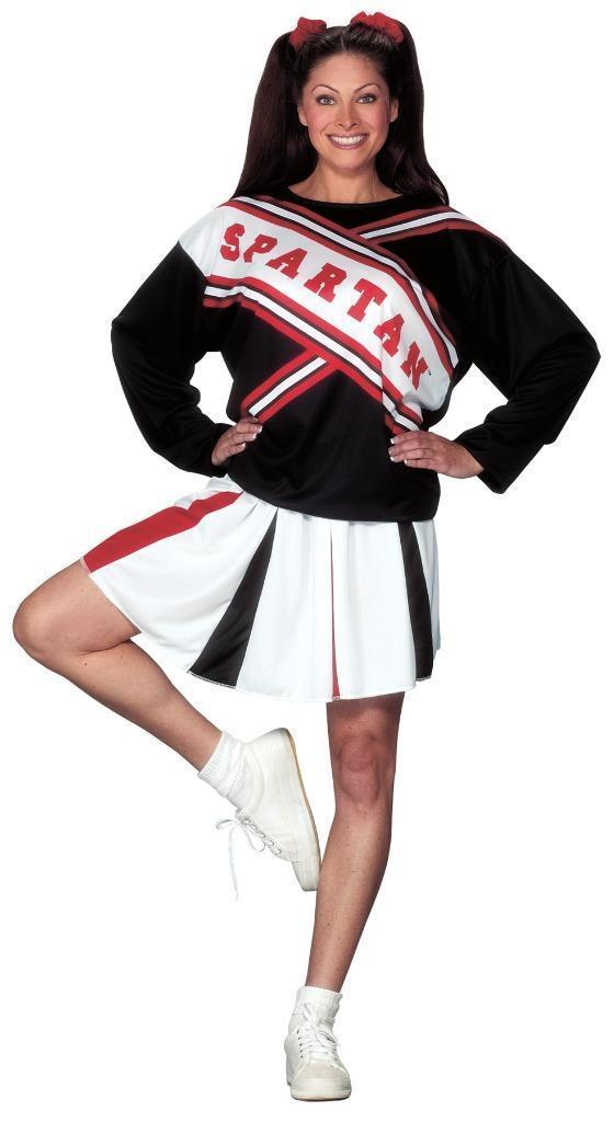 Cheerleader Spartan Girl Costume Womens Adult Halloween Party SZ 6-12 FW100174