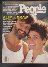 People Magazine Ali MacGraw Bob Seger Moonies July 24 1978 Free S/H - $19.95