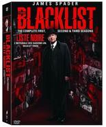The Blacklist: Complete First Second Third SEASONS 1-3  DVD Giftset- Bra... - $35.59
