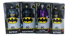 "Mattel Batman Missions 6"" Action Figures - Batman, Joker, Nightwing, Bat... - $29.99"