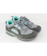 Womens Propet Piccolo Hiking Sneakers - Grey/Mint, Size 9.5 (2E) US - $152.78 CAD