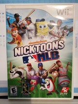Nicktoons MLB (Nintendo Wii, 2011) - Fun Kids Sports Game - Comes with M... - $7.83
