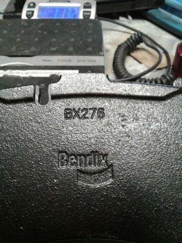 Bendix BX276 air disc brake (ADB) pad (jew)