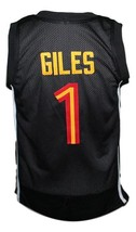 Harry Giles #1 Oak Hill HS Basketball Jersey Sewn Black Any Size image 2