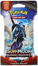 Pokemon TCG: Sun & Moon Burning Shadows, Blistered Booster Pack Containing 10 Ca - $6.90