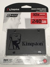 KINGSTON SSD 240GB A400 SATA SA400S37/240G 2.5 INTERNAL SOLID STATE 7406... - $72.99