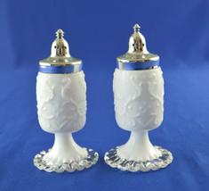 Fenton Spanish Lace Salt & Pepper Shaker #3508SC - $39.60