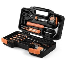 Flexzion Tool Set Box - Hand Tool Kit & Accessories For General Househol... - $18.49