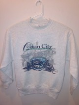 Fruit of the Loom - Ocean City Maryland - Heavy - Gray - Crewneck - Swea... - $16.33