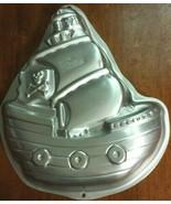 Wilton Pirate Ship Cake Pan Baking Mold Birthday 2105-1021 2008 - $9.69