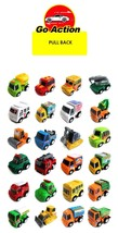 World Distribution Pull Back Go Miniature Mini Toy Cars Vehicles 24 Pieces Set image 2