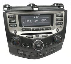 2005-07 Honda Accord AM FM XM Radio 6 CD w Temp Controls 39175-SDR-A210-... - $247.49
