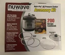 NuWave Nutri-Pot 6-qt. Pressure Cooker Accessory Kit - $14.58