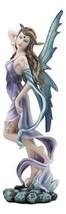 "Ebros Large Celestial Tao Wind Elemental Fairy Statue 11"" H Decorative Mythical  - $32.66"
