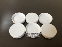 Water Bottle 3 & 5 Gallon Screw On Caps 48mm Lot of 6 - $5.85