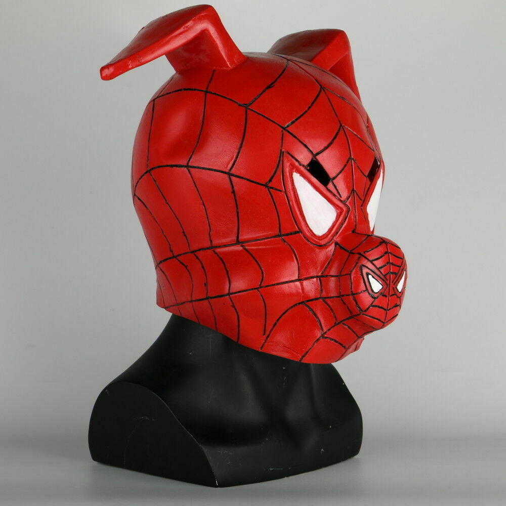 Primary image for Spider-Man Into the Spider-Verse Spider-Ham Mask Full Movie Cosplay Mask