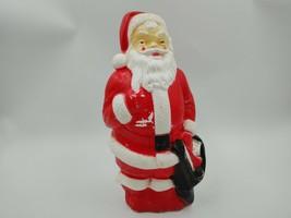 Blow Mold Santa Claus 1968 Empire Dope Sick Film Set Prop Christmas Vint... - $44.55