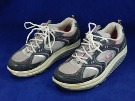SKECHERS Shape Ups Toning/Fitness Sneakers/Shoes Womens 9.5  11806 NVSL - $31.00