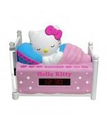 Hello Kitty Sleeping Kitty Alarm Clock Radio With Night Light NEW - $34.97