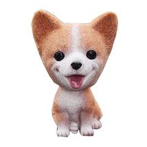 PANDA SUPERSTORE Cute Bobbleheads Bulldog Car Ornaments Resin Doll Car Decoratio