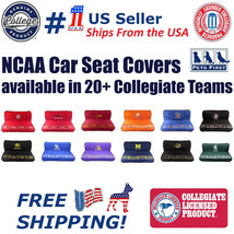 NCAA Premium Pet Car Seat Protecting Cover - Licensed, Waterproof, Fits ... - $59.99