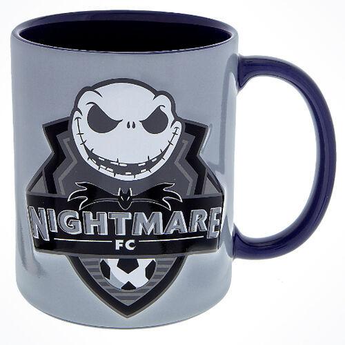 Disney Parks Nightmare Before Christmas FNC Jack Skellington Coffee Mug Soccer - $27.67
