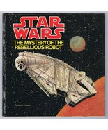 ORIGINAL Vintage 1979 Star Wars The Mystery of the Rebellious Robot Book - $18.55