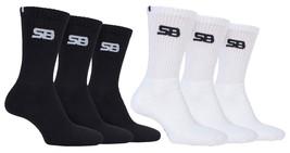 Storm Bloc - 3 Paar Herren Sommer Gepolsterte Crew Performance Sport Socken - $10.97