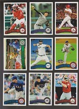 2010 2011 2012 Topps base & Update U Pick ---15% off on 4++!!!! * - $1.49+