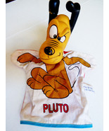 "VTG 1960's Walt Disney Productions Pluto Dog Hand Puppet Vinyl Head 11"" ... - $24.75"