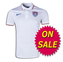 Nike Usmnt Usa Youth Home Jersey Fifa World Cup 2014 Clearance. - $39.99