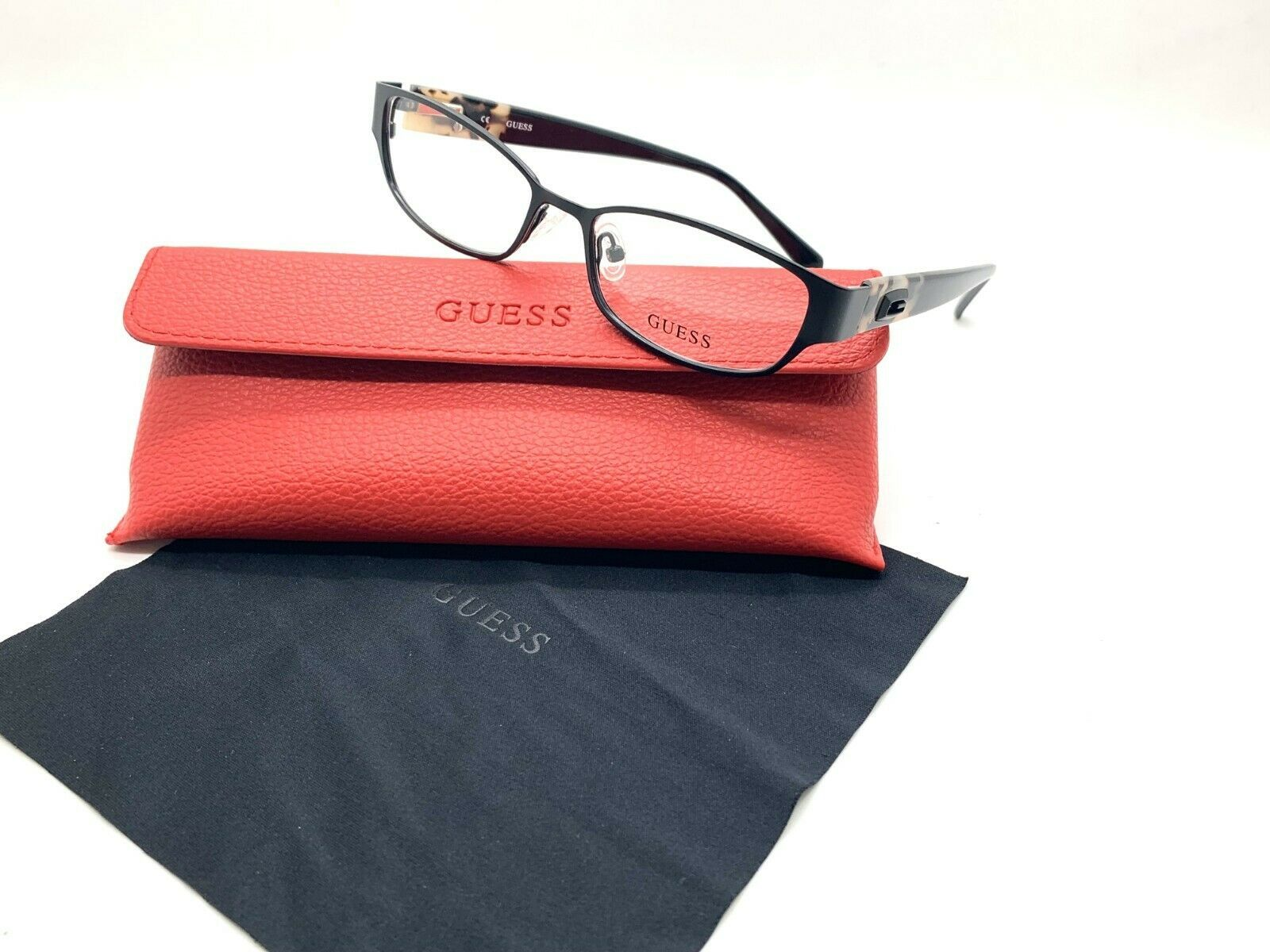 Primary image for GUESS GU 2412 B84 Women's Eyeglasses Frames 52-16-135 Black + CASE