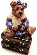 Boyds Bear, Bailey Bear with Suitcase 2000, 1E FIRST - $17.97
