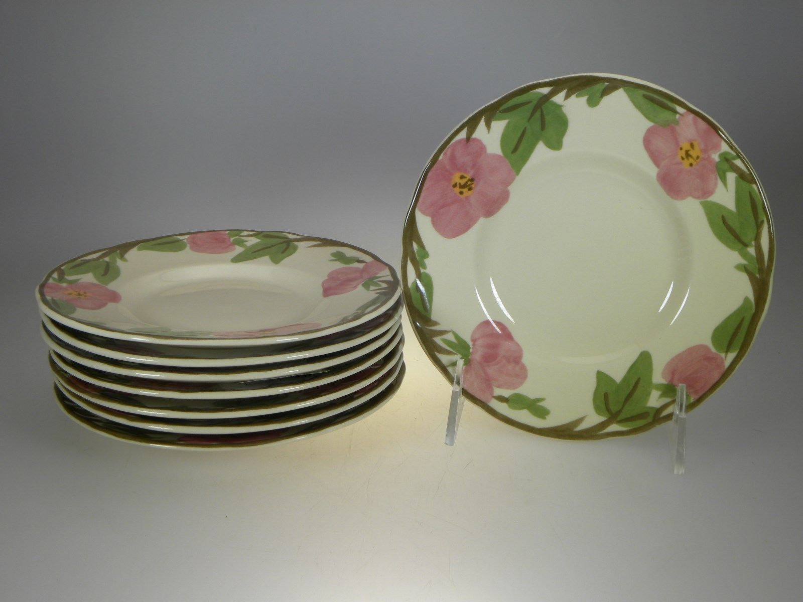 Franciscan Desert Rose Bread & Butter Plates Set of 8 BRAND NEW PRODUCTION