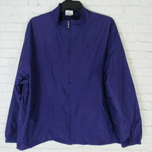 New Balance Double Session XXL 2XL Jacket Mens Purple Zip Up Windbreaker... - $22.27
