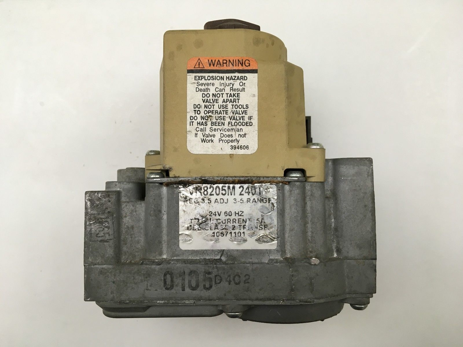 a87b69f61bb HONEYWELL VR8205M 2401 Furnace Gas Valve and 50 similar items. 57