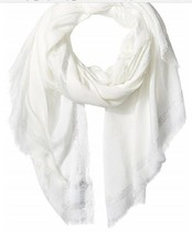 Calvin Klein Oversized Metallic Border Scarf - $15.83