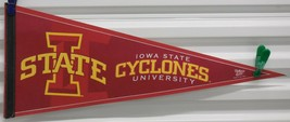 "WinCraft Iowa State University ISU Cyclones Full Size 12"" x 30"" Felt Pen... - $23.38"