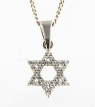 Star of david Women's .925 Silver Necklace - $49.00